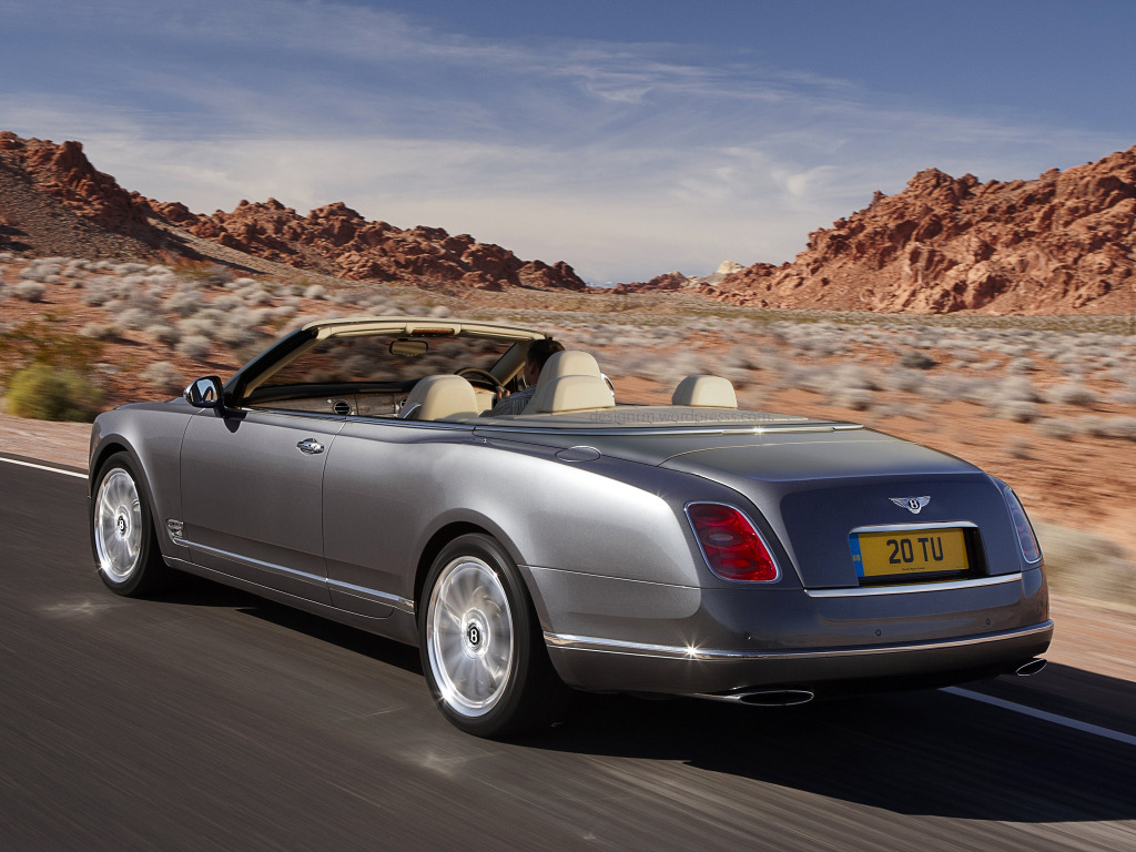 Bentley Mulsanne Cabriolet Convertible